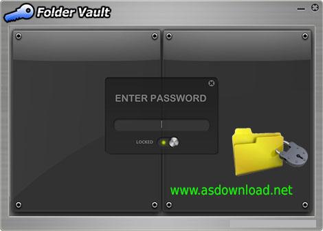 دانلود نرم افزار Folder Vault 3.0.1 - مخفی سازی و قفل گذاری بر روی فایل ها و پوشه ها
