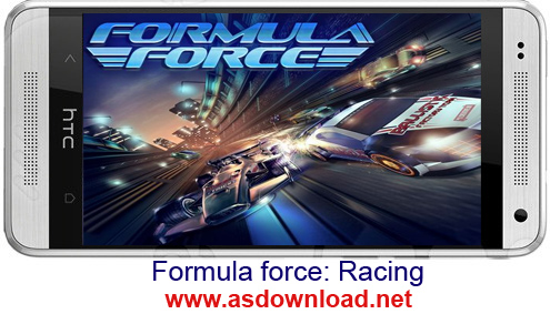 Formula force: Racing - بازی مسابقه نیروی فرمول برای آندروید+دیتا