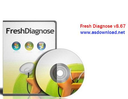 دانلود Fresh Diagnose v8.67- نرم افزار تست قطعات کامپیوتر
