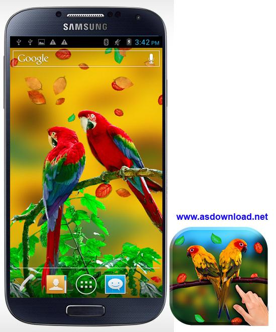 Galaxy S4 Live Wallpaper-والپیپر زنده گالکسی S4