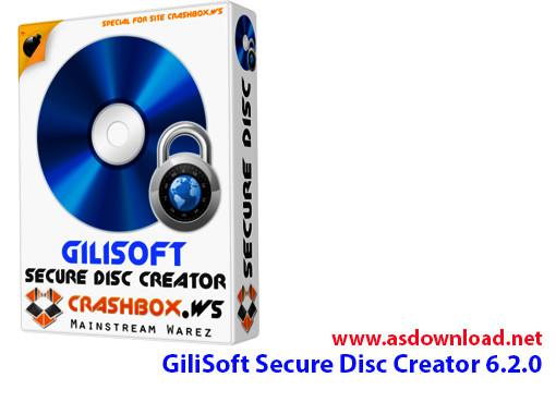 دانلود GiliSoft Secure Disc Creator 6.2.0- رایت لوح فشرده قفل دار