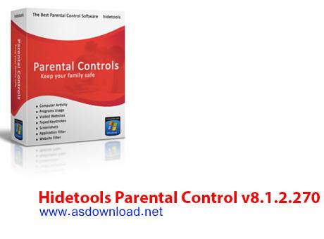 دانلود نرم افزار باهوش Hidetools Parental Control v8.1.2.270 - ثبت و نمایش عملکرد کاربران در اینترنت