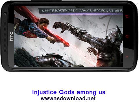 دانلود بازی جنگی و روسی Injustice: Gods among us برای آندروید + فایل دیتا