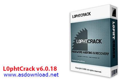 دانلود نرم افزار شکستن قفل ویندوز- L0phtCrack v6.0.18
