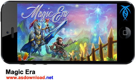 دانلود بازی استراتژیکی عصر سحر و جادو برای آندروید Magic Era