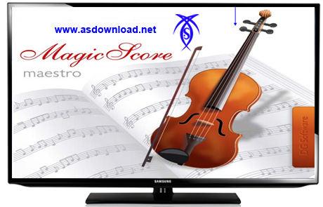 دانلود نرم افزار MagicScore Note 7.605 برای آهنگ سازی و نت نویسی