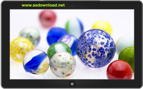دانلود تم گوی حبابی برای ویندوز 8