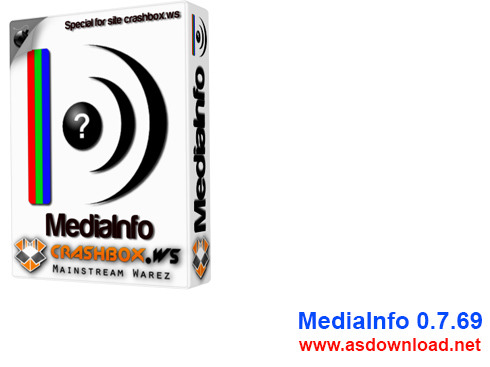 MediaInfo 0.7.69-دانلود نرم افزار نمایش اطلاعات فایل های ویدئویی و صوتی