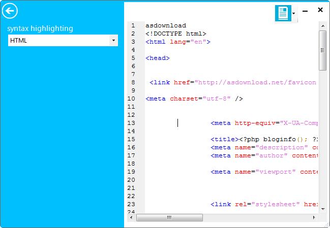 MetroTextual 1.8-نرم افزار جایگزین نت پد ویندوز 8