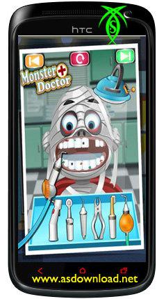 بازی دندانپزشکی دکتر هیولا برای کودکان و نوجوانان Monster Doctor - kids games