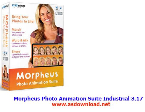 دانلود Morpheus Photo Animation Suite Industrial 3.17-نرم افزار تبدیل عکس به انیمیشن