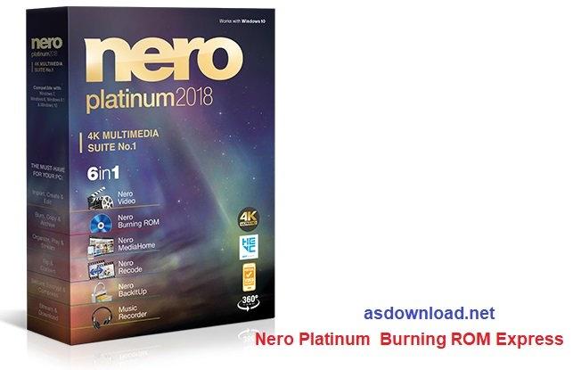Nero Platinum 2018 Burning ROM