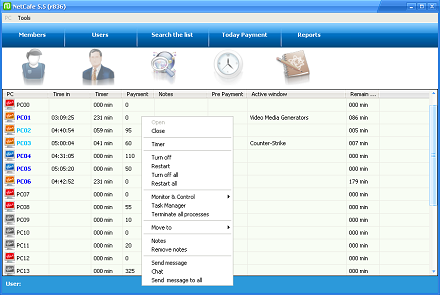 NetCafe 5.5.933 Final-نرم افزار مدیریت و شبکه اینترنت کافی نت