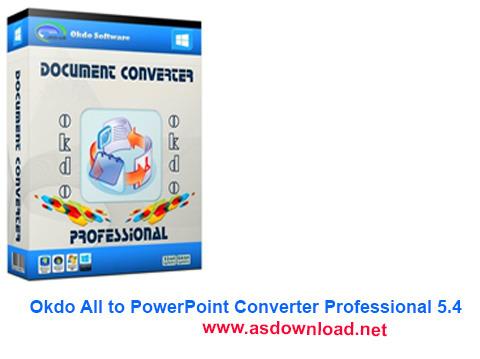 Okdo All to PowerPoint Converter Professional 5.4-نرم افزار مبدل پاورپوینت به فرمت های دیگر