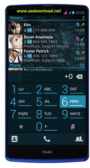 PixelPhone PRO 3.3.2-نرم افزار شماره گیر حرفه ای برای آندروید