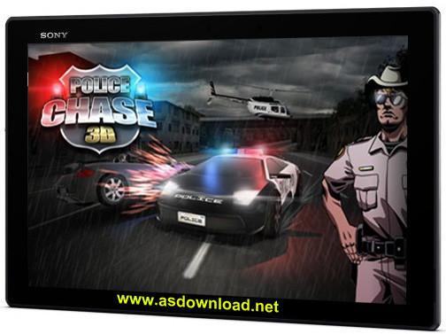Police chase 3D-بازی پلیسی و مسابقه برای آندروید+دیتا