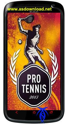 بازی تنیس برای آندروید - دانلود Pro Tennis 2013