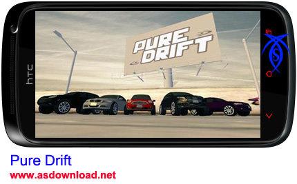 دانلود بازی مسابقه Pure Drift برای آندروید