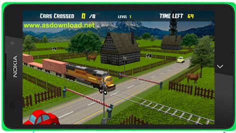 Railroad Crossing-بازی عبور از راه آهن برای آندروید