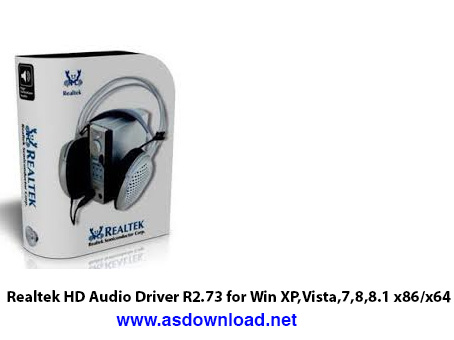 دانلود درایور کارت صدا Realtek HD Audio Driver R2.73 for Win XP,Vista,7,8,8.1 x86/x64