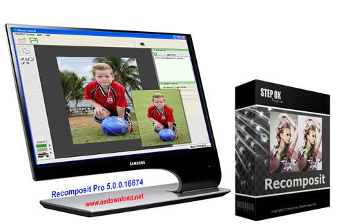 دانلود نرم افزار Recomposit Pro 5.0.0.16874-حذف پس زمینه عکس ها