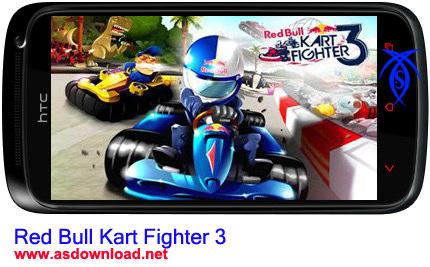 دانلود بازی جدید مسابقه Red Bull Kart Fighter 3 برای آندروید+فایل دیتا