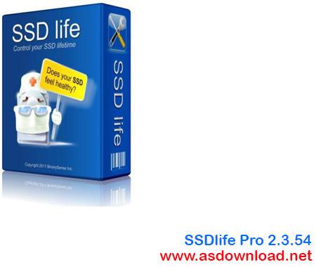SSDlife Pro 2.3.54-نرم افزار تست سالم بودن هارد SSD