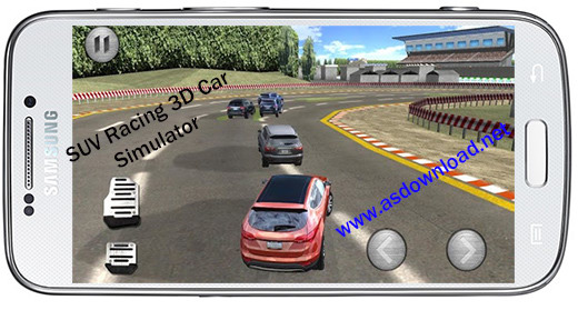 دانلود بازی مسابقه فوق العاده مهیج SUV Racing 3D Car Simulator برای آندروید