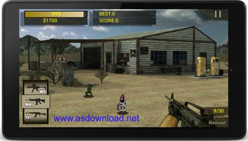 SWAT Shooting- بازی کشتن تک تیرانداز برای آندروید