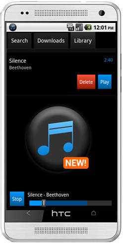 Simple mp3 Downloader- نرم افزار جست جو و دانلود موزیک برای آندروید