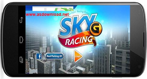 دانلود بازی اسکی و ماشین سواری- Sky racing G