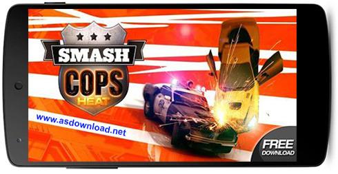 دانلود Smash Cops Heat- بازی مسابقه ماشین برای آندروید+ فایل دیتا