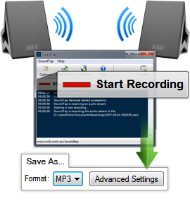 SoundTap Streaming Audio Recorder-نرم افزار ضبط صدا