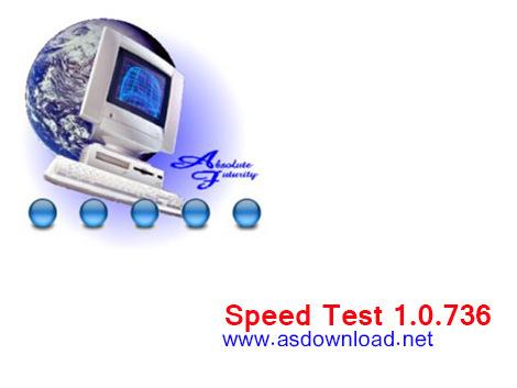 دانلود نرم افزار تست سرعت اینترنت - Speed Test 1.0.736