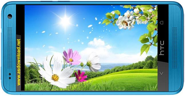 Spring Live Wallpaper-دانلود تم زنده و متحرک بهار برای آندروید