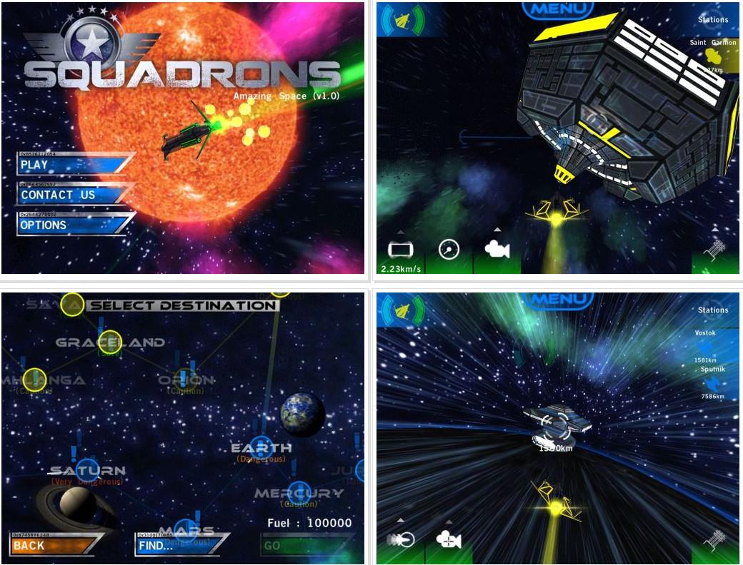 دانلود بازی بلوتوثی و دو نفره Squadrons برای آندروید