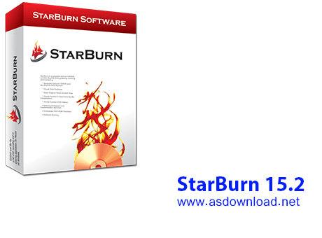 دانلود نرم افزار رایت سی دی و دی وی دی- StarBurn 15.2