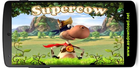 Supercow -بازی سوپر گاو برای آندروید+دیتا