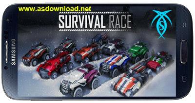 دانلود بازی مسابقه برای بقا  Survival Race HD v1.0