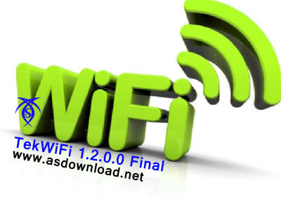 دانلود نرم افزار مدیریت شبکه های وایرلس TekWiFi 1.2.0.0 Final