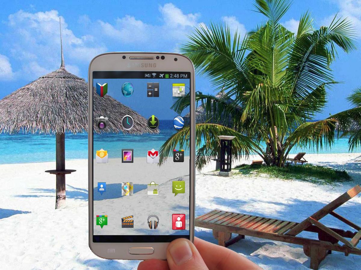 Transparent screen-صفحه نمایش شفاف برای آندروید
