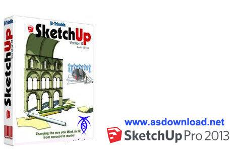 دانلود Trimble SketchUp Pro 2013 - نرم افزار طراحی سه بعدی معماری،ساختمان و مهندسی