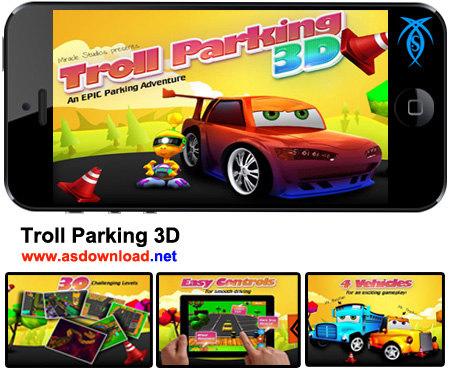 دانلود بازی پارک ماشین برای آندروید Troll Parking 3D