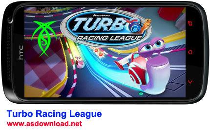 دانلود بازی جدید و مسابقه ای Turbo Racing League برای آندروید