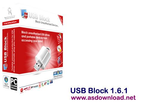 USB Block 1.6.1-قفل گذاری بر روی پورت usb