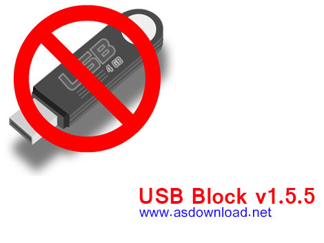 دانلود نرم افزار USB Block v1.5.5 - محافظت از پورت usb و فلش مموری