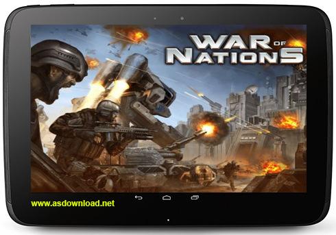 War of nations- بازی جنگ ملل برای آندروید