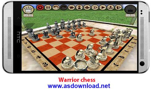 دانلود Warrior chess- بازی شطرنج بلوتوثی و دونفره برای آندروید