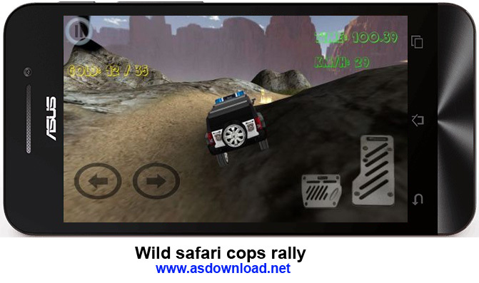 Wild safari cops rally 4x4 - 2. Police crazy adventures - 2-رالی در حیاط وحش