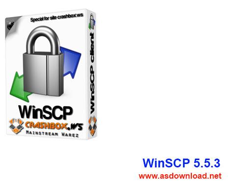 WinSCP 5.5.3-نرم افزار انتقال امن فایل ها بین دو کامپیوتر با سرعت بالا